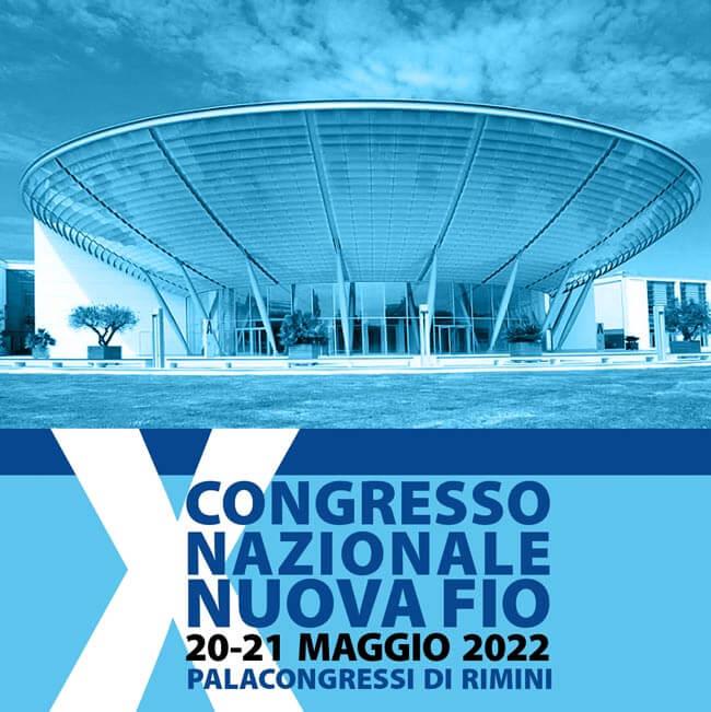 decimo convegno Nuova Fio - maggio 2022